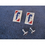 Lancia Flaminia PF coupe Farina logo