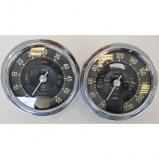 RPM & KM clock for Lancia Aurelia