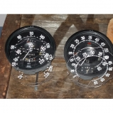 Lancia Aurelia dashboard dial faces