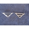 Lancia Flavia Vignale Series 1 & 2 front (nose) triangle - frames
