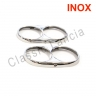 Head-lamps outter rings (stainless steel) for Flavia Coupe