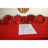 Lancia Fulvia Fanalone outer front headlamps rings