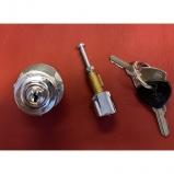 Lancia Flaminia ignition lock plus drivers door-lock inner stift