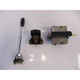 Lancia Flaminia Touring steering-unit & dashboard switches