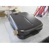 Lancia Flaminia aluminium petrol tank